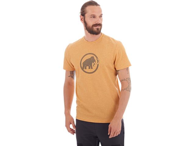 Mammut Trovat Koszulka Mężczyźni, golden